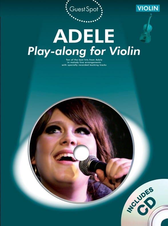 Guest Spot - Adele Play-along for violin - Adele - laflutedepan.com