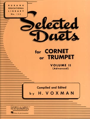 Selected Duets Volume 2 Voxman Partition Trompette - laflutedepan
