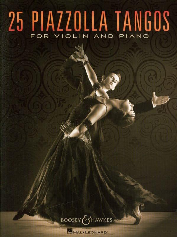25 Piazzolla Tangos pour Violon et Piano - laflutedepan.com