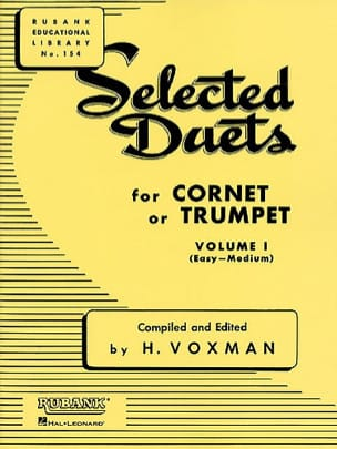 Selected Duets Volume 1 Voxman Partition Trompette - laflutedepan