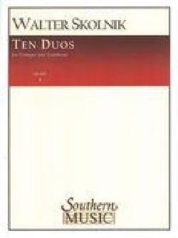 10 Duos - Walter Skolnik - Partition - laflutedepan.com