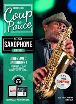 Méthode Saxophone Débutant COUP DE POUCE Partition laflutedepan