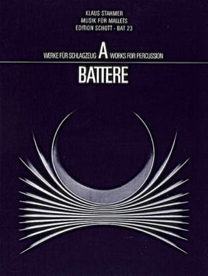 Musik Für Mallets Klaus Stahmer Partition Vibraphone - laflutedepan