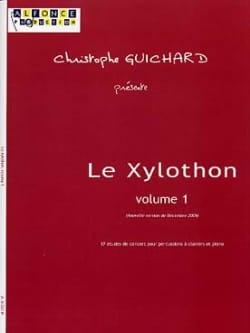 Le Xylothon Volume 1 Christophe Guichard Partition laflutedepan