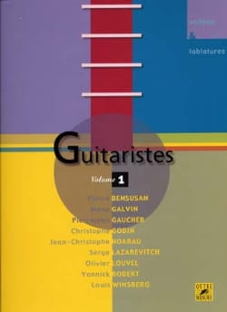 - Guitaristes - Volume 1 - Partition - di-arezzo.fr