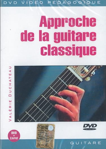 DVD - Approche de la Guitare Classique - laflutedepan.com
