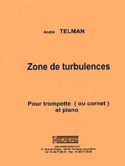 Zone de turbulences André Telman Partition Trompette - laflutedepan