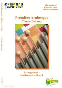 Première arabesque DEBUSSY Partition Vibraphone - laflutedepan