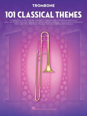 101 Classical Themes for Trombone - Partition - laflutedepan.com