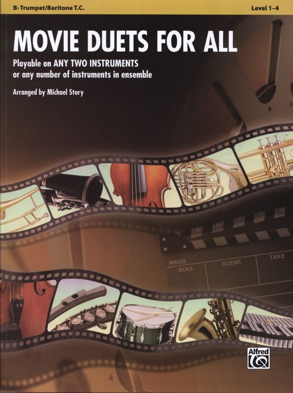 Movie duets for all - Partition - Trompette - laflutedepan.com