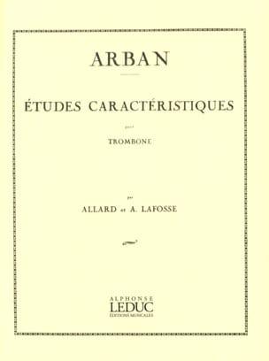 Etudes Caracteristiques Jean-Baptiste Arban Partition laflutedepan
