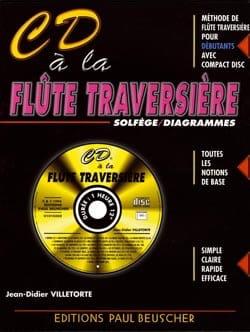 CD A la Flute Traversière Jean-Didier Villetorte laflutedepan