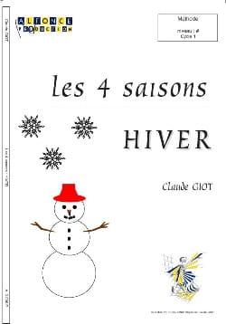 Les 4 Saisons - Hiver Claude Giot Partition Batterie - laflutedepan