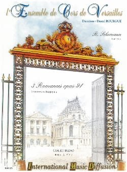 3 Romances Opus 94 SCHUMANN Partition Cor - laflutedepan
