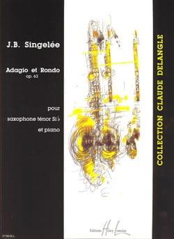 Adagio Et Rondo Opus 63 Jean-Baptiste Singelée Partition laflutedepan