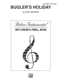 Bugler's Holliday Leroy Anderson Partition Trompette - laflutedepan