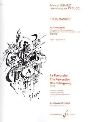 3 danses - Jorand Marcel / Di Tucci Jean-Jacques - laflutedepan.com