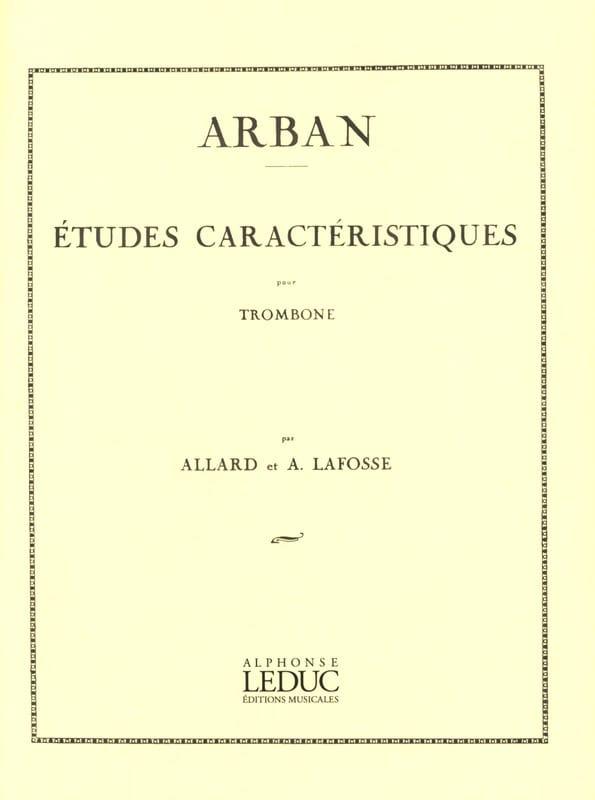 Etudes Caracteristiques - Jean-Baptiste Arban - laflutedepan.com