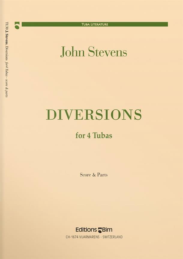 Diversions - Quatuor de Tubas - John Stevens - laflutedepan.com