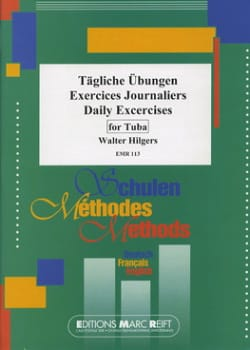 Exercices journaliers Walter Hilgers Partition Tuba - laflutedepan