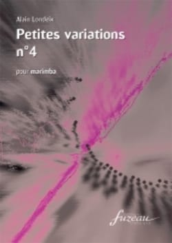 Petites Variations N° 4 - Alain Londeix - Partition - laflutedepan.com