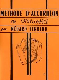 Méthode d'Accordéon de Virtuosité Médard Ferrero laflutedepan