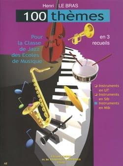 100 Thèmes Bras Henri Le Partition Saxophone - laflutedepan