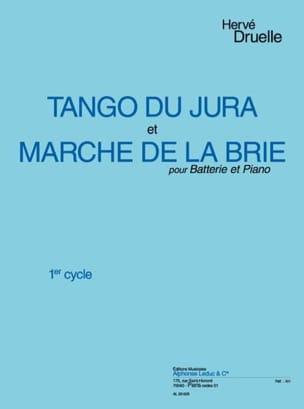 Tango du Jura / Marche de la Brie Hervé Druelle Partition laflutedepan