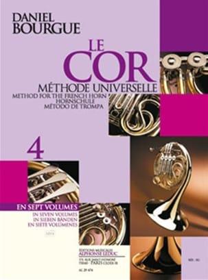 Le Cor Méthode Universelle Volume 4 Daniel Bourgue laflutedepan