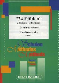 24 Etudes - Uwe Komischke - Partition - Tuba - laflutedepan.com