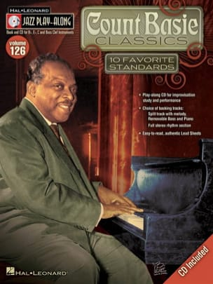 Jazz play-along volume 126 - Count Basie Classics laflutedepan