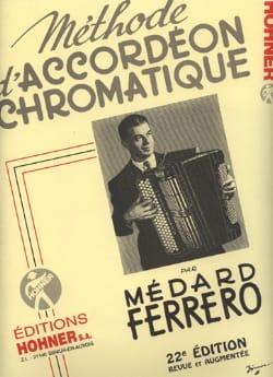 Méthode d'accordéon chromatique - Jaune Médard Ferrero laflutedepan