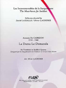 La Dama le Demanda - Cabezon - Partition - Trombone - laflutedepan.com