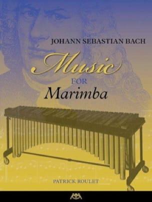 Music for Marimba - BACH - Partition - Marimba - laflutedepan.com