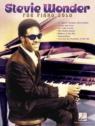 Stevie Wonder for piano solo Stevie Wonder Partition laflutedepan