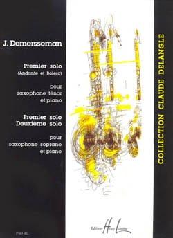 Premier Solo / Deuxième Solo Jules Demersseman Partition laflutedepan