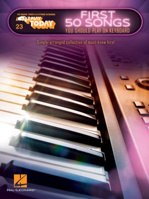 E-Z Play Today Volume 23 - First 50 Songs You Should Play on Keyboard laflutedepan