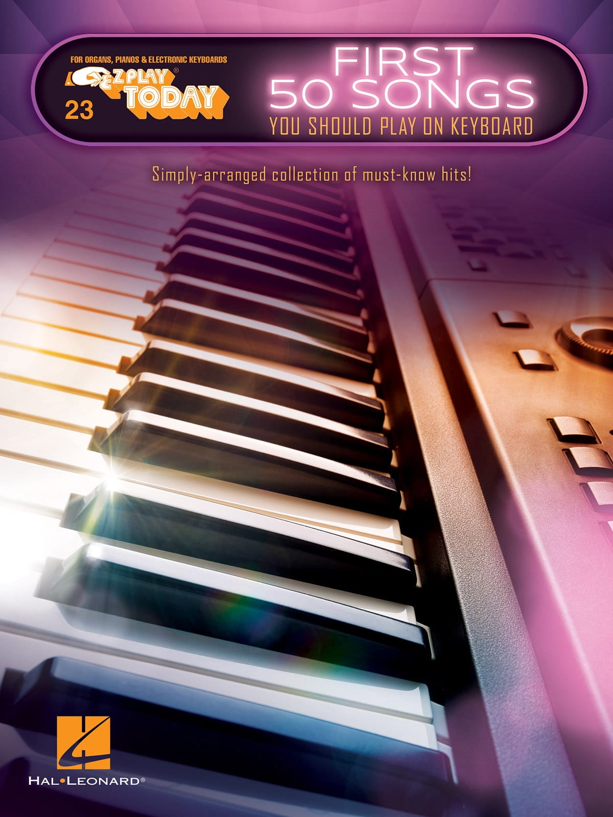 E-Z Play Today Volume 23 - First 50 Songs You Should Play on Keyboard - laflutedepan.com