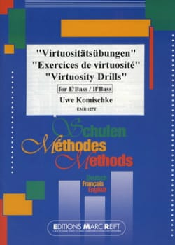 Exercices de virtuosité Uwe Komischke Partition Tuba - laflutedepan
