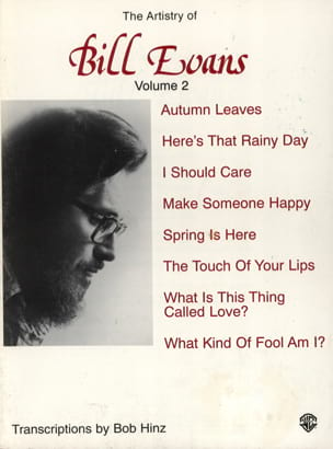 The Artistry Of Bill Evans Volume 2 Bill Evans Partition laflutedepan