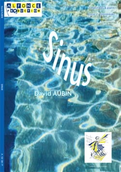 Sinus David Aubin Partition Ensemble de percussions - laflutedepan