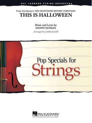 This Is Halloween - Pop Specials for Strings Danny Elfman laflutedepan