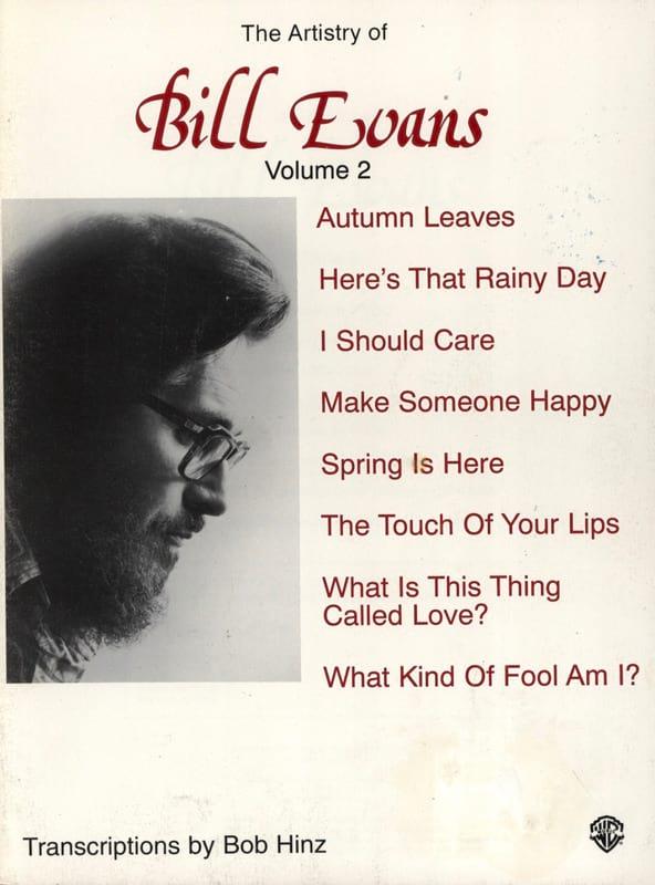 The Artistry Of Bill Evans Volume 2 - Bill Evans - laflutedepan.com