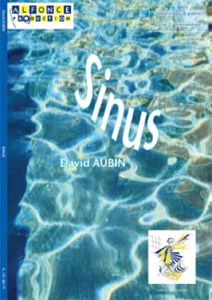 Sinus - David Aubin - Partition - laflutedepan.com