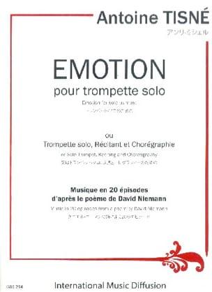 Emotion Antoine Tisné Partition Trompette - laflutedepan
