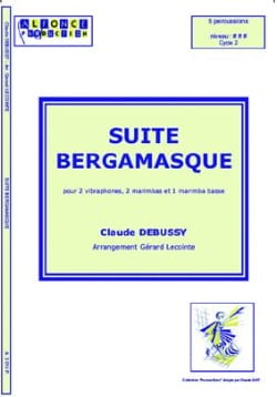 Suite Bergamasque DEBUSSY Partition laflutedepan