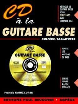 CD A la Guitare Basse Françis Darizcuren Partition laflutedepan