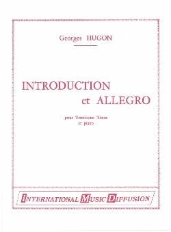 Introduction Et Allegro Georges Hugon Partition laflutedepan