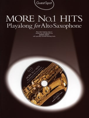 Guest Spot - More N° 1 Hits Playalong For Alto Saxophone laflutedepan