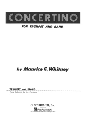 Concertino - C. Maurice Whitney - Partition - laflutedepan.com